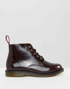 Image 2 ofDr Martens Kensington Emmeline 5-Eye Cherry Boots