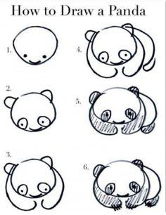 Disegnare un panda