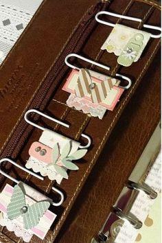 Elabora coquetos marca libros con clips