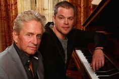 Emmys 2013: 'Behind the Candelabra' wins best miniseries or movie ... Michael Douglas, from left, and Matt Damon. (Kirk McKoy/ Los Angeles Times / September 22, 2013)