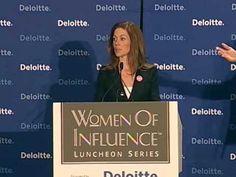 Sarah Richardson Women of Influence Speech