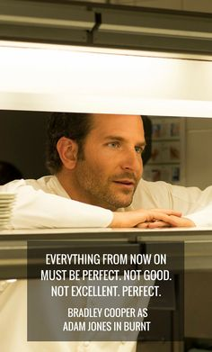 Bradley Cooper plays a chef that must redeem himself in the movie Burnt in select theaters October 23rd, everywhere October 30th