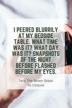 The Seven Steps to Closure by Donna Joy Usher What Day Is It, What Time Is, Discovery News, The Seven, Sign I, The Book, Journey, How To Get, Closure