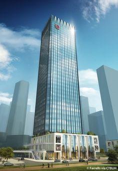 Qianhai Financial Centre - T2 - The Skyscraper Center