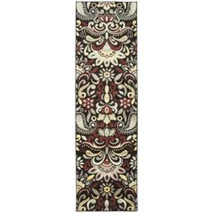 Rizzy Home BS3571 Bayside Power Loomed Polypropylene Rug, Brown