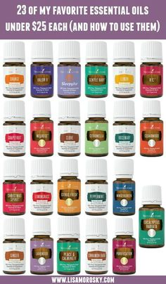 Not all Young Living Essential Oils are expensive! Here's a list of my favorite essential oils under $25 each. Make these a part of your wellness routine!