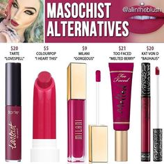 "Jeffree star "" Masochist "" dupes // @kathrynglee123"