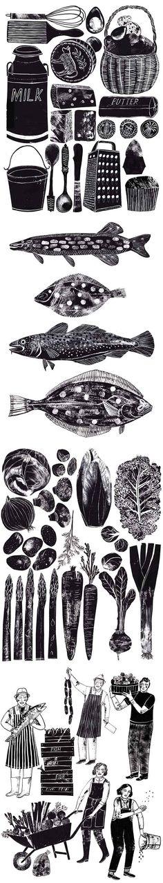 Art Inspiration: Illustrations by Alice Pattullo. #illustration