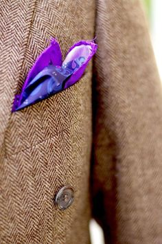 popping pocket square