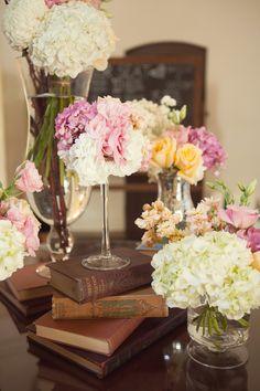 Rustic Chic Decor | Featured on Rustic Wedding Chic ~ Raina & Scott, Franciscan Gardens ...