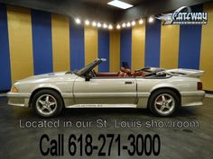 1990 Ford Mustang LX Convertible - Stock #5454-STL