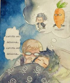 I guess in Noctis's nightmare, Carrotignis is scarier than normal carrot hahaha