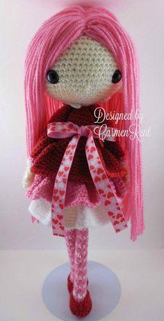 Bibi Amigurumi Doll Crochet Pattern PDF