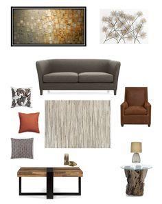 Living Room ~ Grey U0026 Rust Part 76