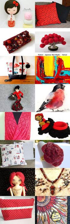 Red! by Elissa Haque on Etsy--Pinned with TreasuryPin.com