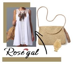 """ROSEGAL"" by guizepezanotti ❤ liked on Polyvore featuring Mar y Sol and Nixon"