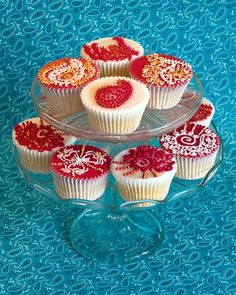 indian cupcakes!  http://www.AsianBride.me