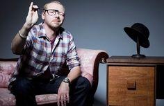 Simon Pegg aka love of my life.