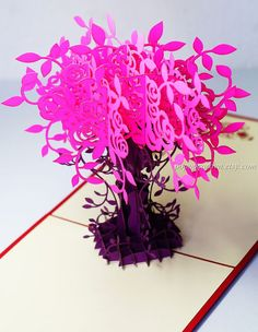 8 best flowers pop up cards images on pinterest pop up cards 3d flower bouquets pop up cards thank you cards by popupcardvn m4hsunfo