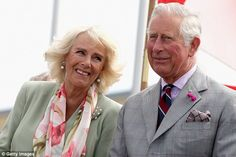 The Duchess of Cornwall couldn't resist stealing a glance at her husband as they sat side ...