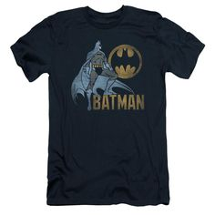 Batman - Knight Watch Short Sleeve Adult 30/1