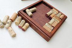 Wine Cork Trivet DIY Kit  Reclaimed Distressed by TheWoodenBee