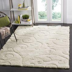 Top Product Reviews for Safavieh Florida Shag Scrollwork Cream Area Rug (5' 3 x 7' 6) - Overstock.com - Mobile