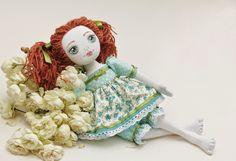 Taya Toy: Текстильная кукла Флора