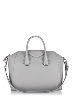 b4a6ba262c GIVENCHY Medium Antigona bag in gray textured-leather A 3