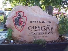 Cheyenne, WY : Cheyenne Frontier Days...an annual event