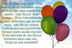 Parabéns! Tudo de bom para você! #felicidades #feliz_aniversario #parabéns