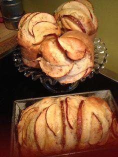Muffins aux pomme à l'érable