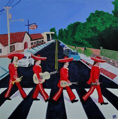 The Beatles, Abbey Road: Mariachis