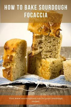 A traditional Italian bread, a sourdough Focaccia recipe brushed with olive oil and just flakes of sea salt and rosemary sprinkled on top. Sourdough Focaccia Recipe, Sourdough Recipes, Bread Recipes, Baking Recipes, Bread Ingredients, Italian Bread, Tray Bakes, Cornbread