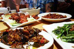 Malaysian feasts  Rasa Sayang in #London.  #Malaysian #Food #foodies #yum #delicious #foodporn #yum #foodspotting  http://www.yummei.com/2015/07/rasa-sayang-chinatown-london.html