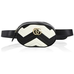 79e624184bed37 Gucci GG Marmont Matelassé Leather Belt Bag (18.521.750 IDR) ❤ liked on