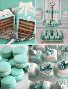 Tiffany I love tiffany & Co! Join me for more favorites at I love tiffany & Co! Join me for more favorites at Tiffany Cakes, Tiffany Theme, Tiffany Blue Cupcakes, Tiffany Birthday Party, Tiffany Party, Tiffany Blue Weddings, Tiffany Wedding, Green Weddings, Wedding Blue