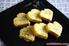 Egg Food | Korean Food: Heart Shape Fried Egg Side-dish (계란말이 = GyeRan ...
