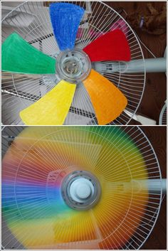 How to DIY Creative Rainbow Fan 7