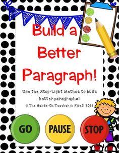Building Better Paragraphs!