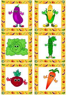 Summer brings us a lot of tasty and healthy vegetables. It's one of interesting topics for young English learners to discover. Food Clipart, Healthy Vegetables, Healthy Food, Interesting Topics, Best Fruits, Play Food, Learn English, Kids English, Funny Cartoons