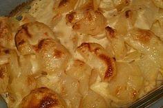 Kartoffelauflauf mit Schmelzkäse