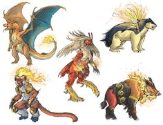 ok Infernape and Emboar have to much shit on them to look cool. lol