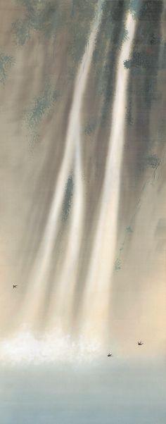 日本画 滝 - Google Search