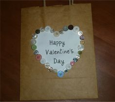 Super simple cute kids idea for Valentine's Day fun! Could  be used for a simple card too.