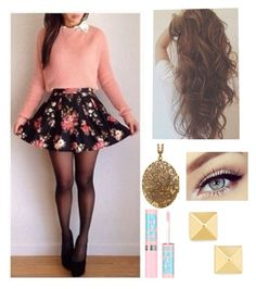 """Untitled #54"" by lovedance864 ❤ liked on Polyvore featuring Maybelline"