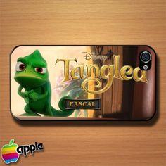 Tangled Pascal 3D Cartoon Animated Custom iPhone 4 or 4S Case Cover | Merchanstore - Accessories on ArtFire