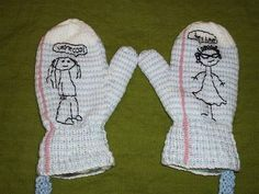 Teen Girl Squad Mittens!!! (with pattern!) - KNITTING