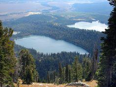 Taggart and Bradley Lakes, Grand Teton National Park