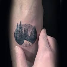 Image result for small forest tattoos